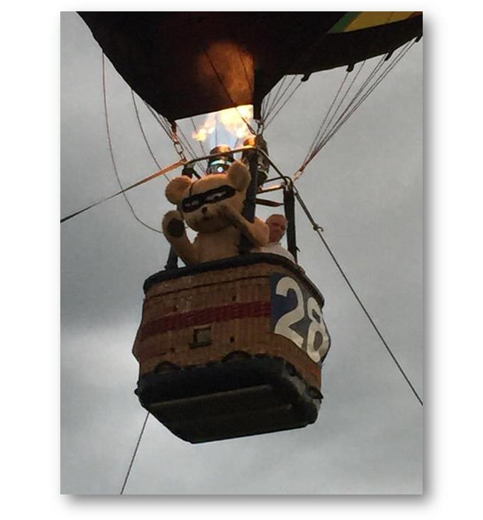 2017 Ohio Challenge Hot Air Balloon Event and Festival toy bear fund raiser
