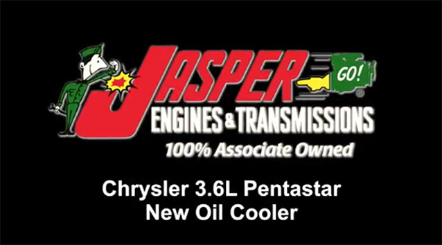 Chrysler 3.6L Pentastar Oil Cooler