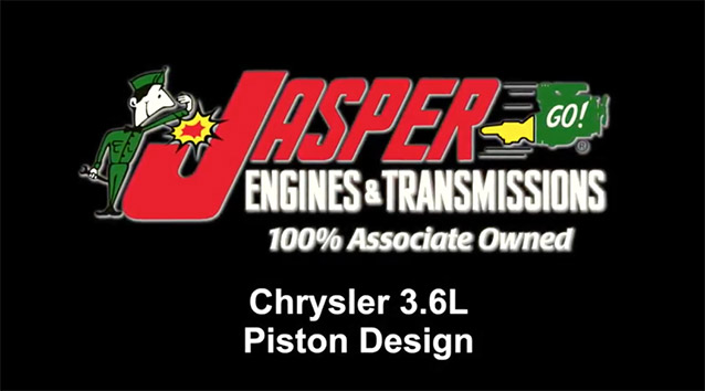 Chrysler 3.6L Piston Design