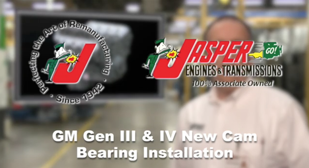 GM Gen III & IV New Cam Bearing Installation