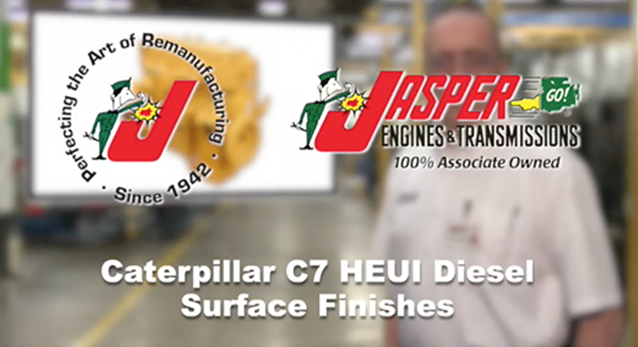 Caterpillar C7 HEUI Diesel Surface Finishes