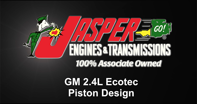 GM 2.4 Ecotec Piston Design: