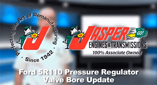 Pressure Regulator Valve Bore